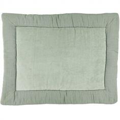 Tapis de jeu Bliss vert olive (75 x 95 cm)