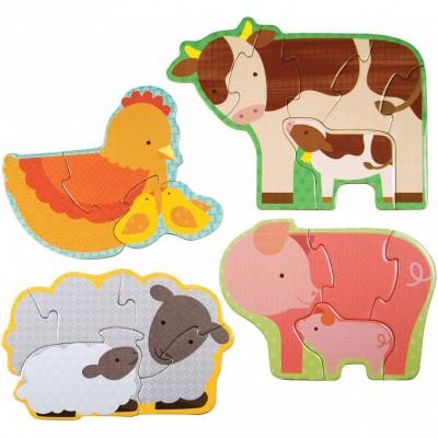 Mon premier puzzle animaux de la ferme (18 pièces)  par Petit Collage