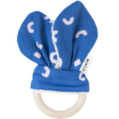 Anneau de dentition en bois bleu Play  par Trixie