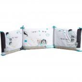Tour de lit Lazare (pour les lits 120 x 60 et 140 x 70 cm) - Sauthon Baby Déco