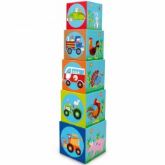 Cubes empilables Ferme