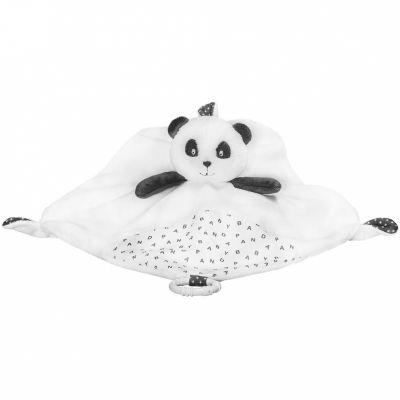 Doudou plat panda Chao Chao  par Sauthon