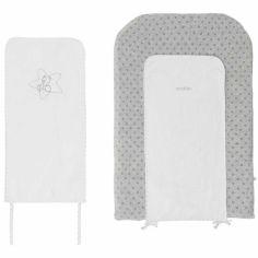 Matelas à langer + 2 serviettes Poudre d'étoiles (45 x 70 cm)