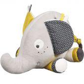 Peluche Babyfan éléphant (33 cm) - Sauthon Baby Déco