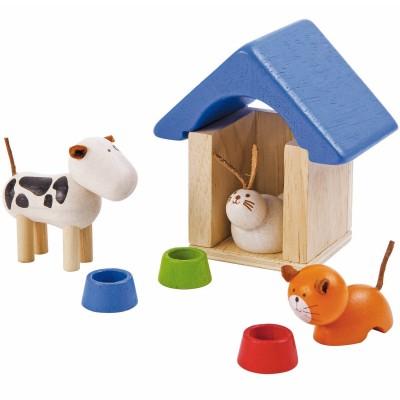 Animaux domestiques (7 pièces)  par Plan Toys