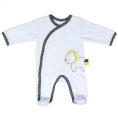 Pyjama chaud Pluche et Pompon lion (1 mois)
