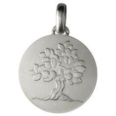 Médaille laïque ''Je Grandirai comme un Arbre'' (argent 950°)