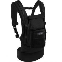 Porte bébé PhysioCarrier en coton tout noir