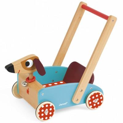 Chariot de marche crazy doggy  par Janod