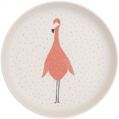 Assiette plate Mrs. Flamingo