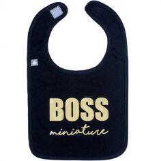 Bavoir à velcro Boss miniature