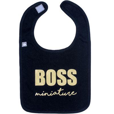 Bavoir à velcro Boss miniature  par BB & Co