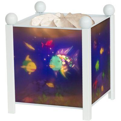 Lanterne magique ''Poisson Arc en ciel'' blanche  par Trousselier