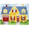 Puzzle sonore à encastrement les sons domestiques (8 pièces) - Melissa & Doug