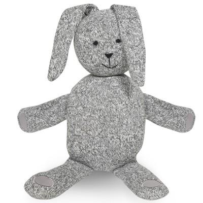 Peluche lapin Stonewashed gris (43 cm) Jollein