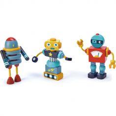 Robots à construire en bois