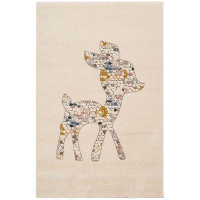Tapis rectangulaire Faon écru (80 x 150 cm)  par Art for Kids