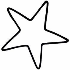 Déco murale grande étoile en tricotin (coloris personnalisable)