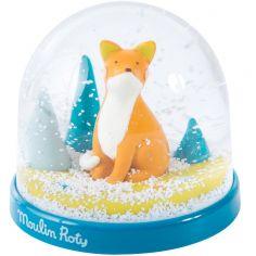 Boule à neige renard Chaussette Le voyage d'Olga