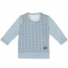 Tee-shirt réversible Indigo Blue (2-4 mois)