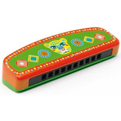 Harmonica multicolore  par Djeco