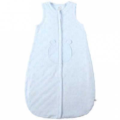 Gigoteuse légère jersey Mix et Match bleue (70 cm)  par Noukie's