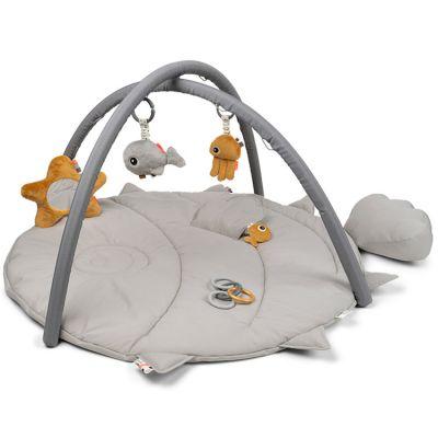 Tapis d'éveil avec arches gris Sea friends  par Done by Deer