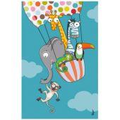 Tableau en ballon (14 x 22 cm) - Série-Golo