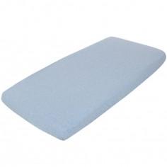 Drap housse Blue melange (70 x 140 cm)