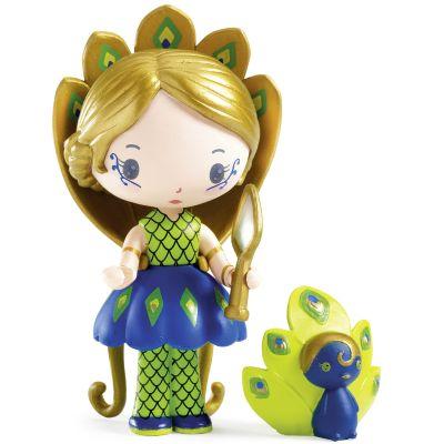 Figurine avec paon Paloma et Bôgo Tinyly  par Djeco