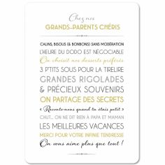Carte Grands-parents (15 x 21 cm)