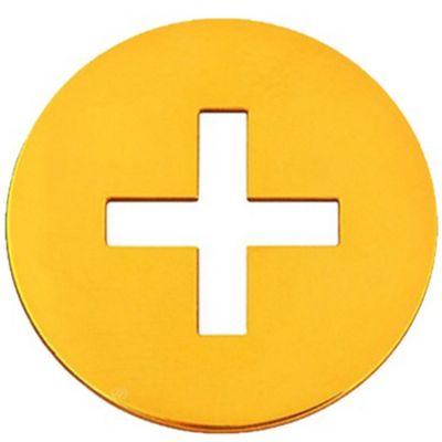 Médaille croix grecque (or jaune 18 carats)  par Maison La Couronne
