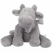 Peluche vache gris clair Lola Poudre d'étoiles (25 cm)  - Noukie's