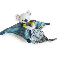 Coffret doudou plat Yoca le koala (25 cm)