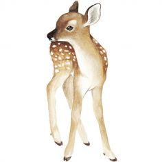 Grand sticker Oh deer faon (26 x 60 cm)