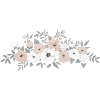 Planche de stickers Composition florale