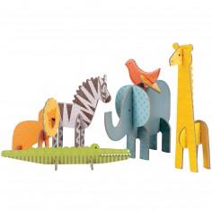 Les animaux d'Afrique en 3D