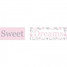 Tableau duo Liberty rose 'Sweet Dreams'  par Home Corner