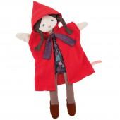 Marionnette Petit Chaperon rouge Il était une fois (37 cm) - Moulin Roty