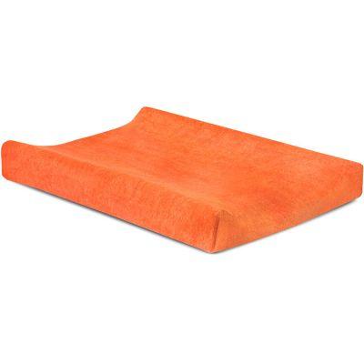 Housse de matelas à langer orange (50 x 70 cm)