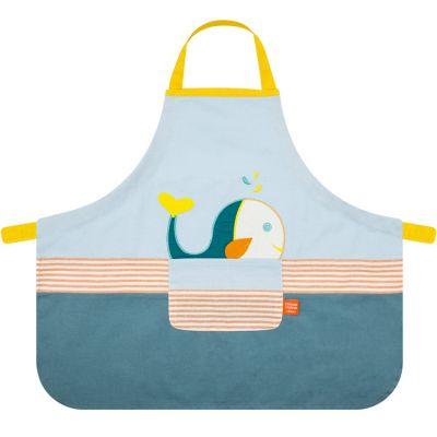 Tablier enfant baleine  par L'oiseau bateau