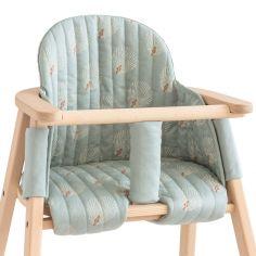 Coussin de chaise haute Growing green White Gatsby Antique Green