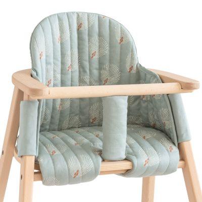 Coussin de chaise haute Growing green White Gatsby Antique Green  par Nobodinoz