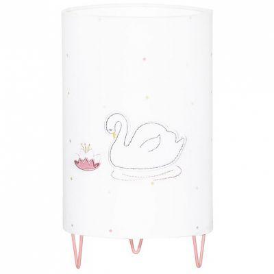 Lampe à poser cygne Baby Swan  par Sauthon