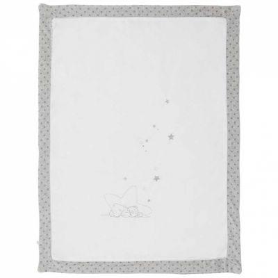Couverture veloudoux Nouky dormeur Poudre d'étoiles (75 x 100 cm)