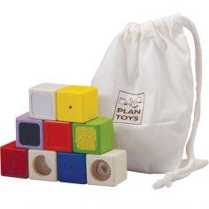 Blocs sensoriels (9 cubes)