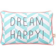 Coussin rectangulaire Dream Happy (20 x 30 cm)