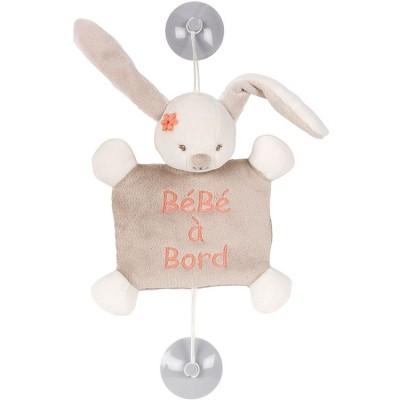 Bébé à bord Mia le lapin  par Nattou