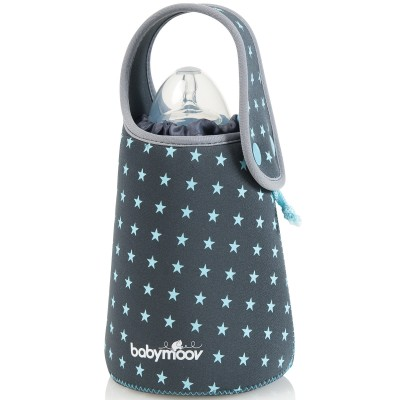 Chauffe biberon nomade étoiles gris  par Babymoov