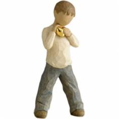 Statuette Coeur en or